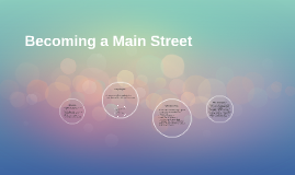 Becoming a Main Street