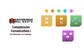 1 - Competencias Comunicativas I