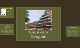 Evaluación de Genogramas