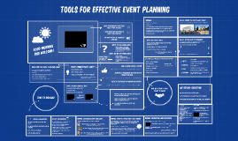 Copy of Tools for Effective Event Planning