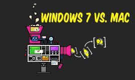 Windows 7 Vs. MAC
