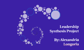 Leadership Synthesis Project