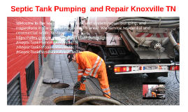 Septic Tank Pumping and Repair Knoxville TN