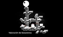 Valoración de Soluciones