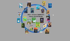 Copy of 2013 - 14 Iowa Children's Choice Award Books