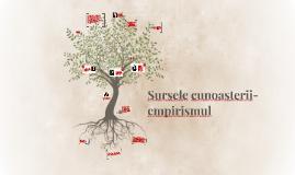 Copy of Sursele cunoasterii- empirismul