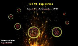 NR 19 - Explosivos