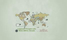 Cooperación Triangular entre México, Bolivia y Alemania