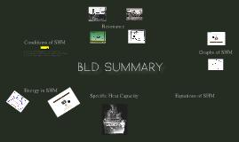 BLD summary