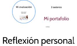 Mi evaluación
