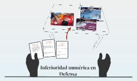 Inferioriodad numérica en Defensa