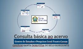 PDF Consulta ao acervo do Centro de Estudos e Pesquisas Irmã Fau