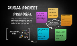 Mural Project Propsal