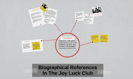 Joy Luck Club Presentation