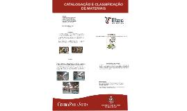 Catalogação e Classificação de Materias TCC