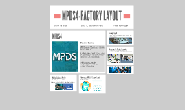 MPDS4-FACTORY LAYOUT