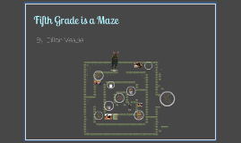 Fifth Grade Is a Maze By: Dillon