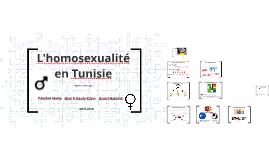 L'homosexualité en Tunisie