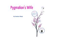 Pygmalion's Bride