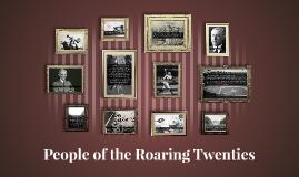 People of the Roaring Twenties