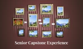 Senior Capstone Experience