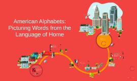 Copy of American Alphabets