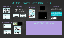 CH 4 - Ancient Greece
