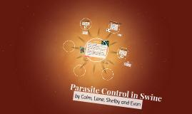 Parasite Control in Swine