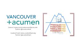 Acumen Fund: Investing for Impact