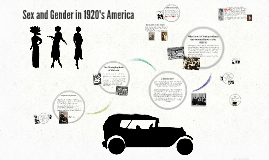 Sex and Gender in 1920's America