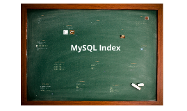 Copy of MySQL Index