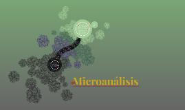 Microanálisis