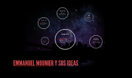 EMMANUEL MOUNIER Y SUS IDEAS