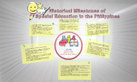 Copy of Historical Milestones of SPED in the Philippines
