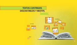Copy of TEXTOS CONTINUOS DISCONTINUOS Y MIXTOS