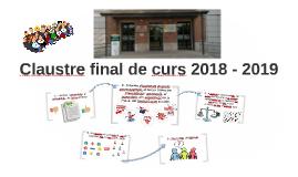 Claustro final de curso 2017 - 2018