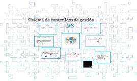 Copia de Sistema de contenidos de gestión