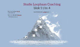 SLC Blok start en blok 1 2016-2017