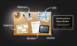 Desktop Prezumé by Ross Bixler