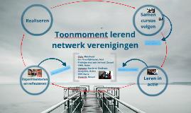 Toonmoment 2e lerend netwerk