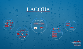 L'ACQUA E LE SUE PROPRIETA'