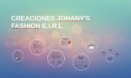 Copy of CREACIONES JOHANY'S FASHION E.I.R.L