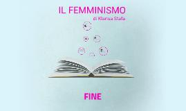 IL FEMMINISMO