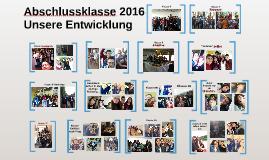 Abschlussklasse 2016