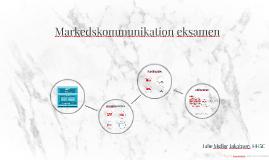 Markedskommunikation eksamen