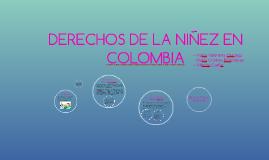 DERECHOS DE LA NIÑEZ EN COLOMBIA