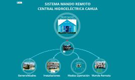 Copy of Sistema Mando Remoto CH Cahua
