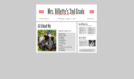 Mrs. Billette's 2nd Grade
