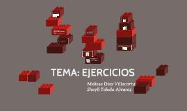 TEMA: EJERCICIOS