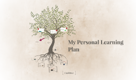 My Personal Learning Plan